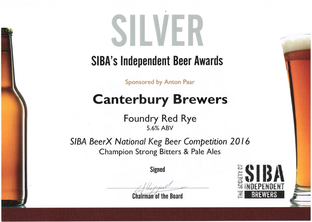 Canterbury Brewers wins national beer award